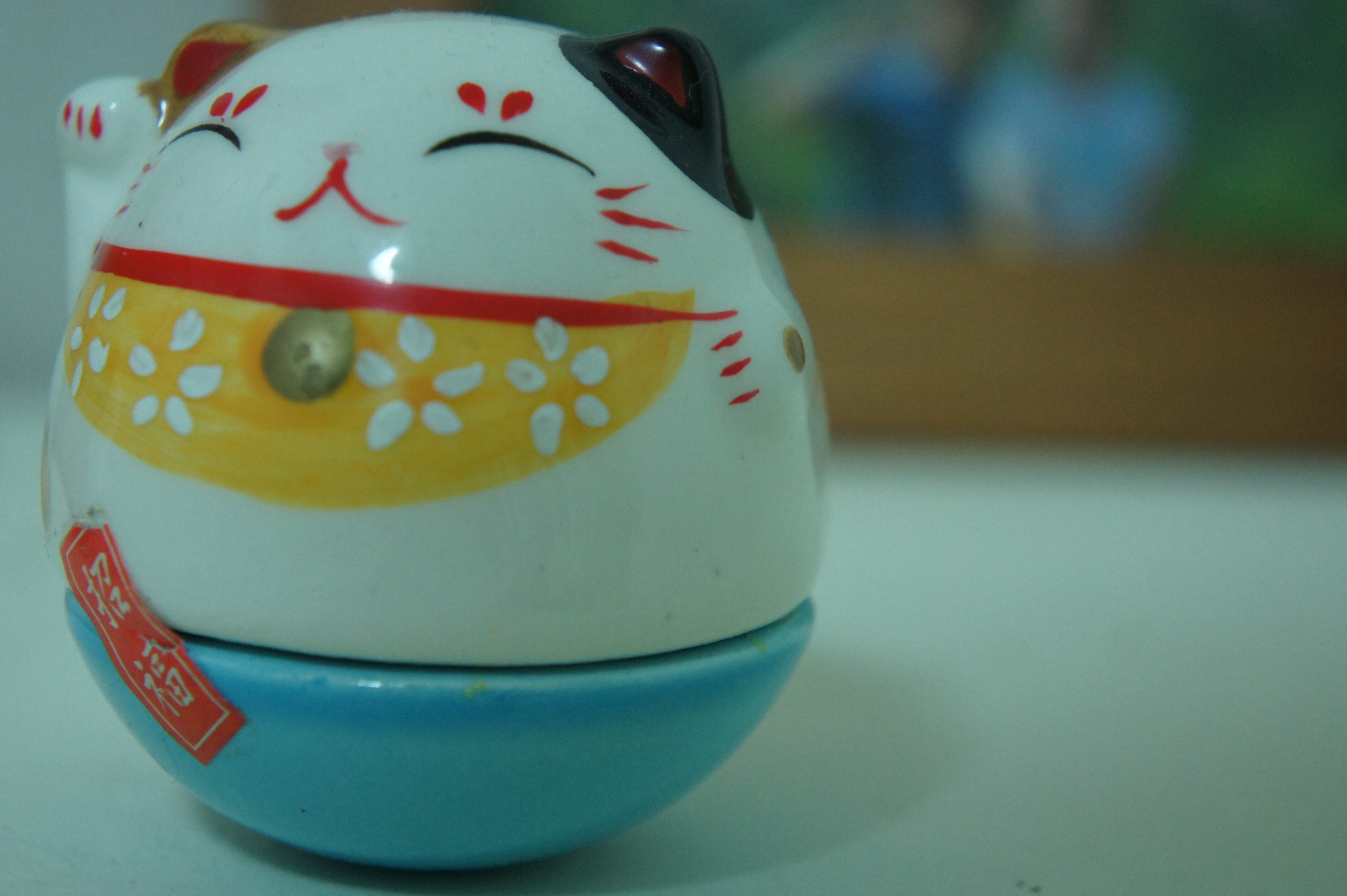 I trust lucky cat to help me make good decisions