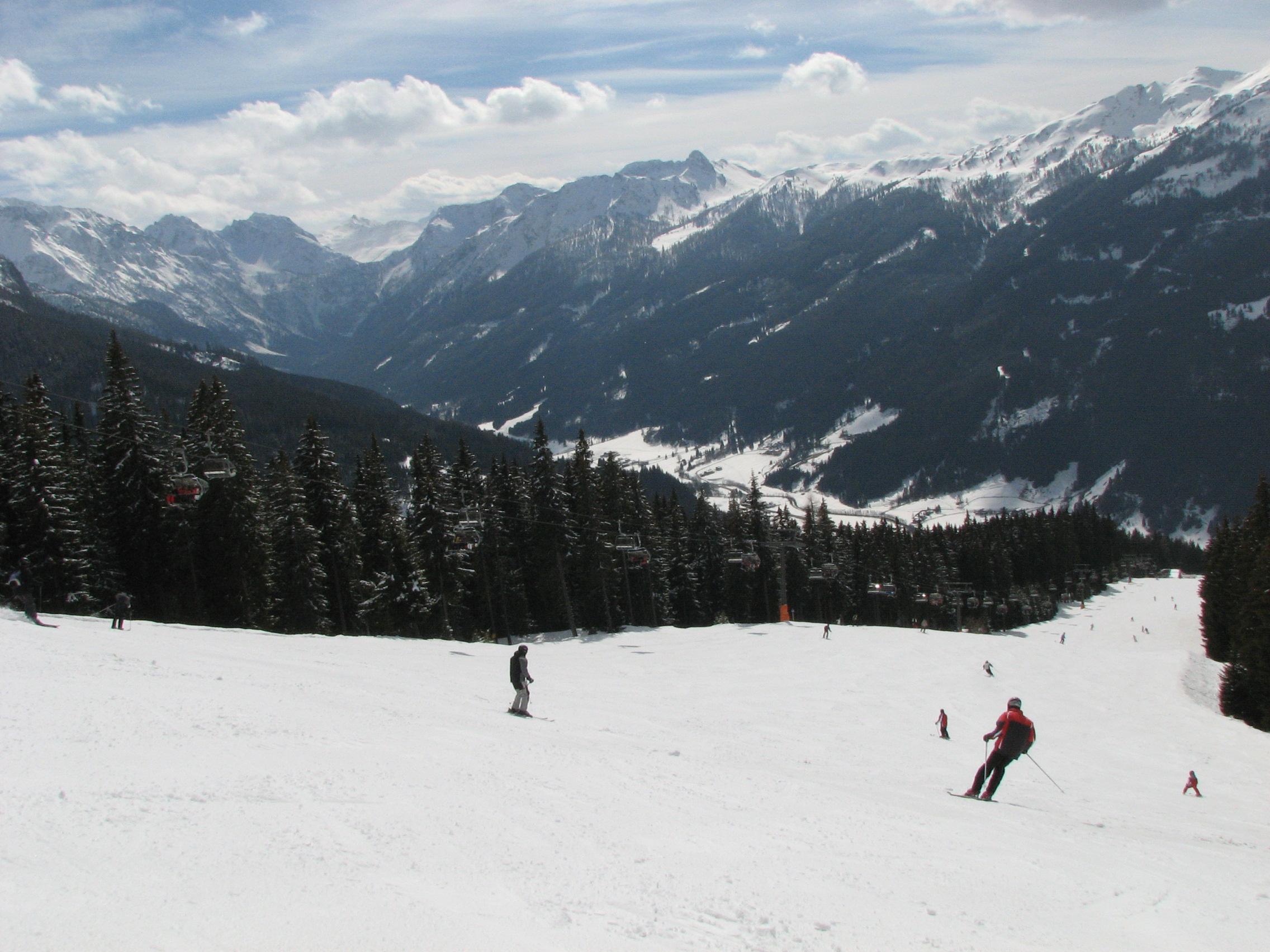 First Paragraph ski