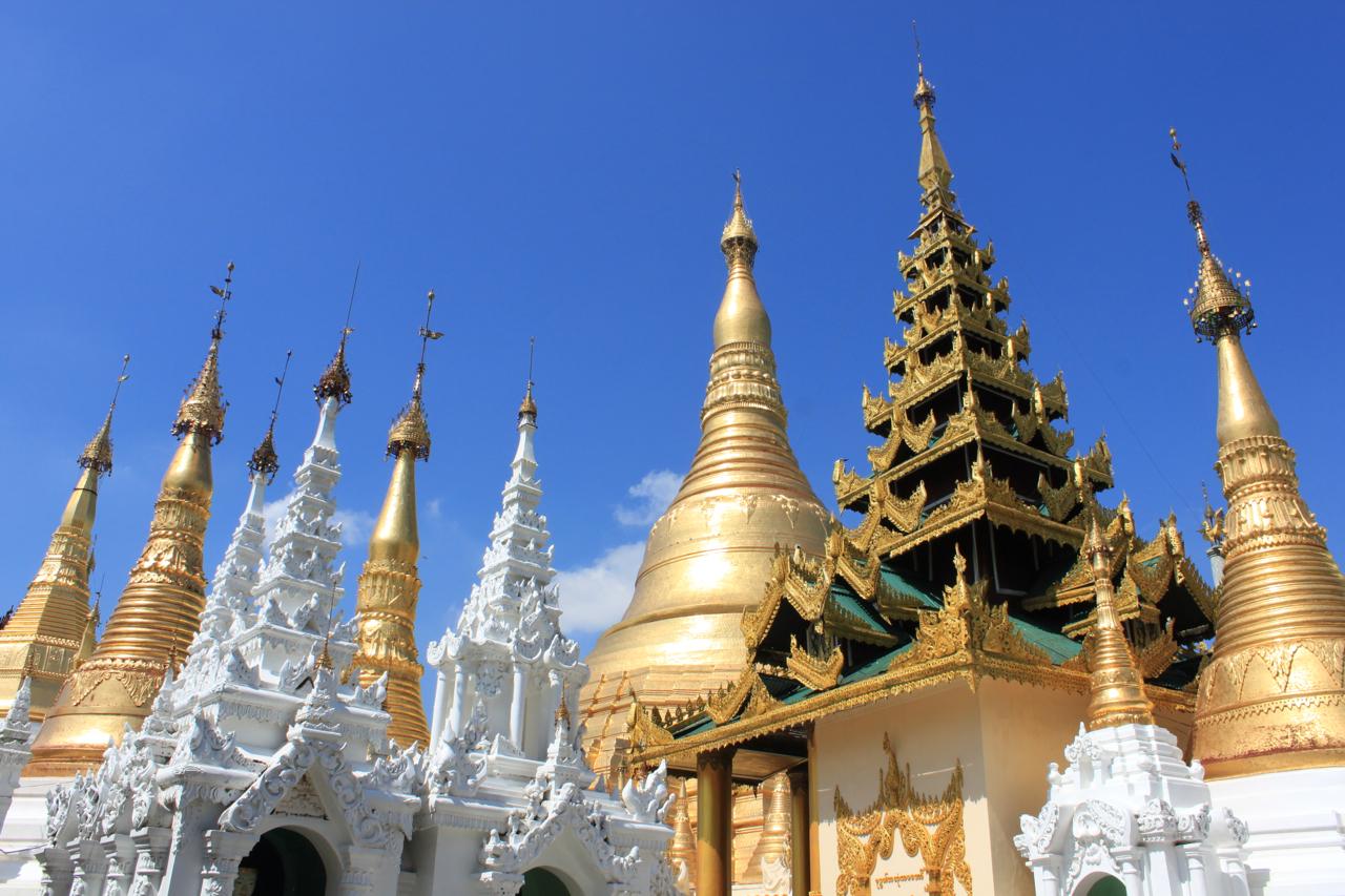 Pagodas med res