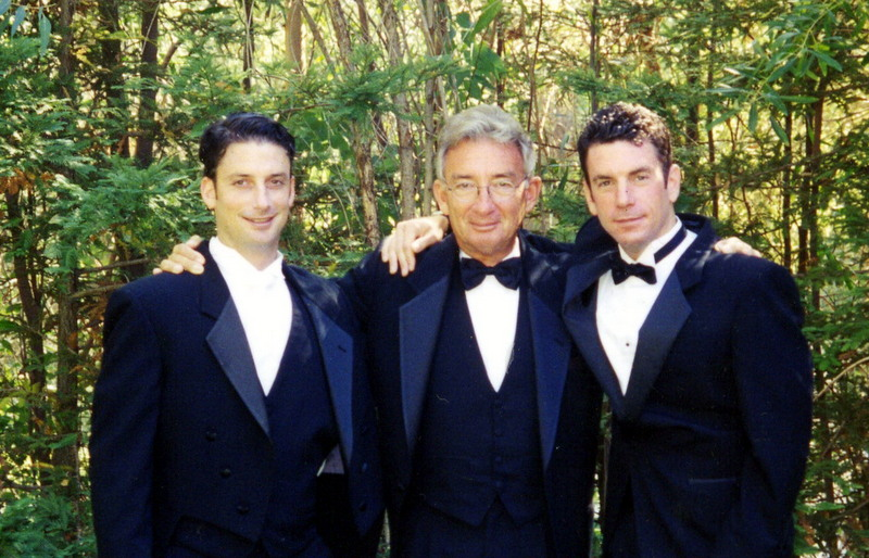 Peter, Michael and George Rajna