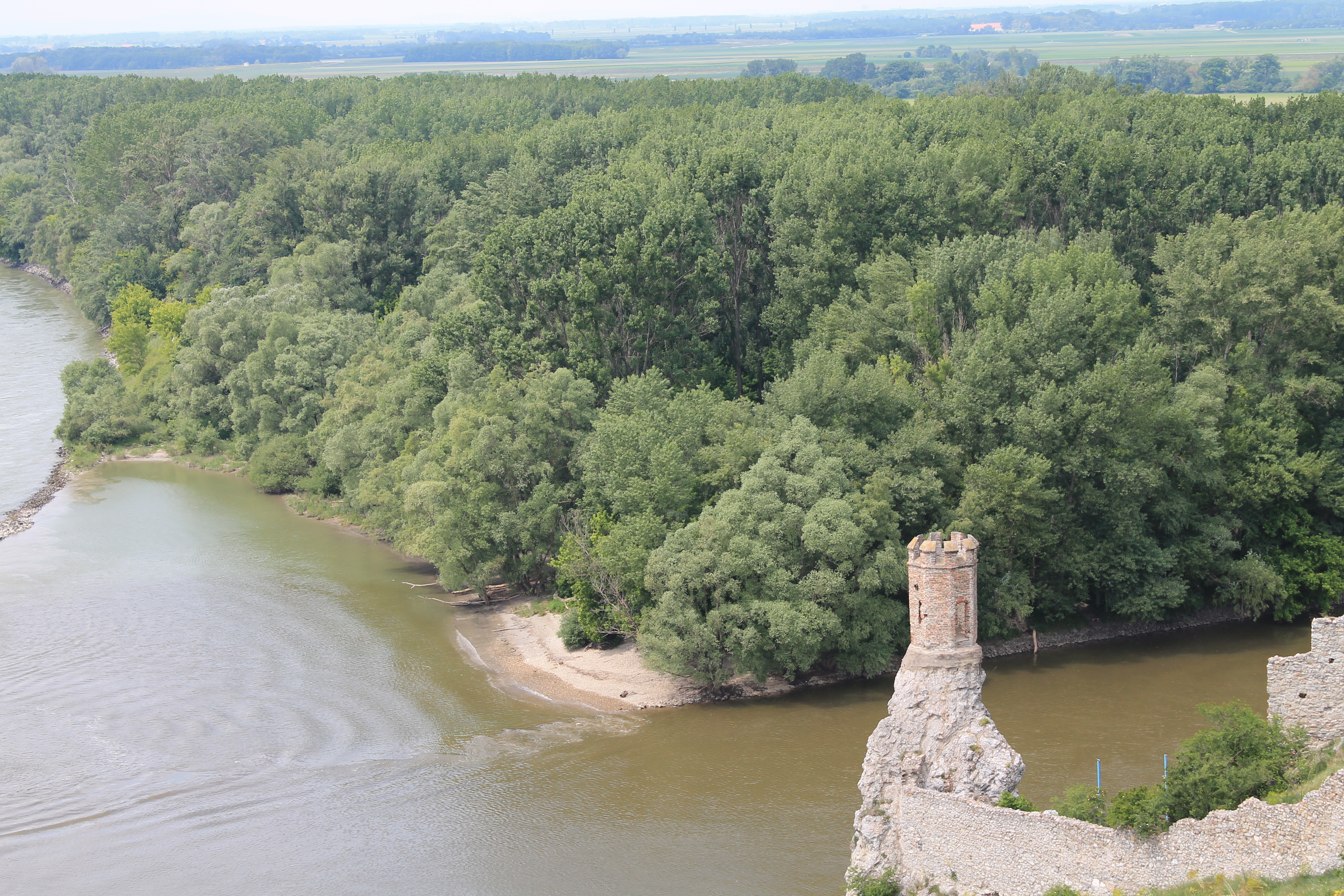 View from Devin Castle ruins