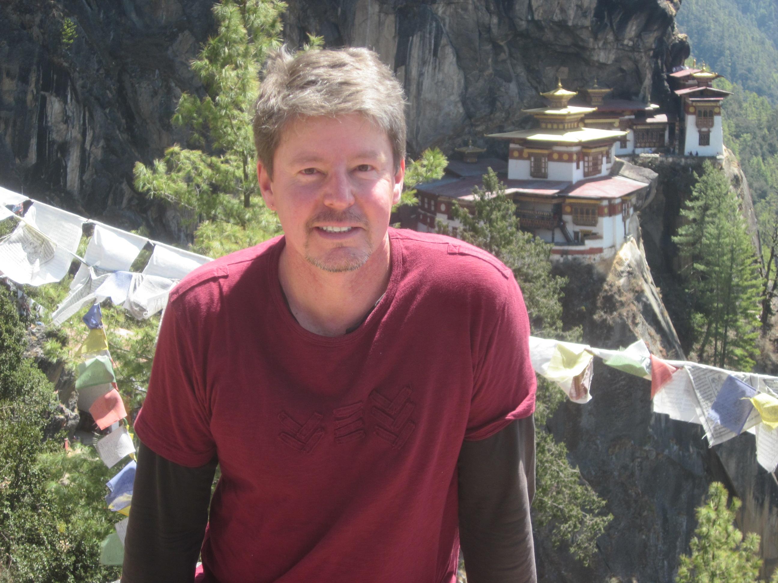 John at Tiger's Nest Monastery