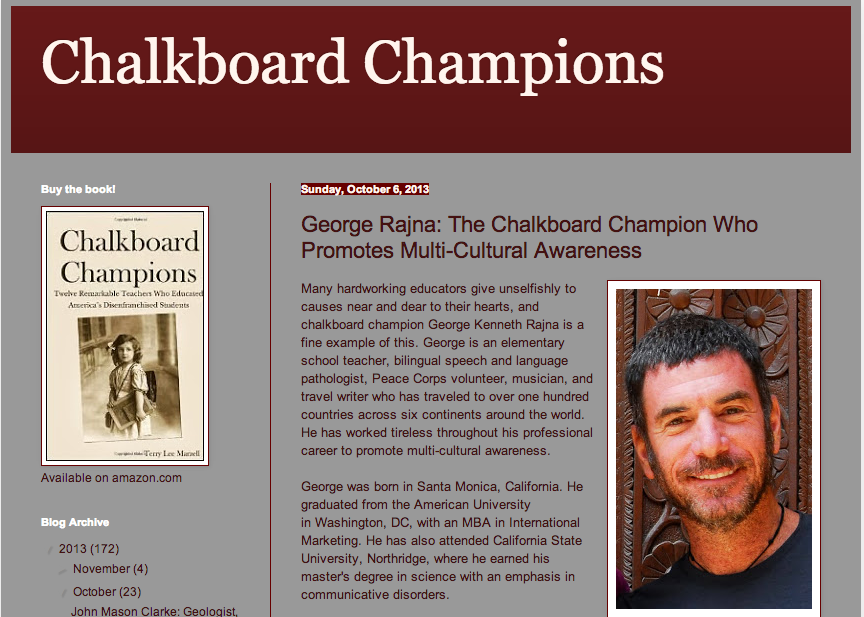 George Chalkboard champion