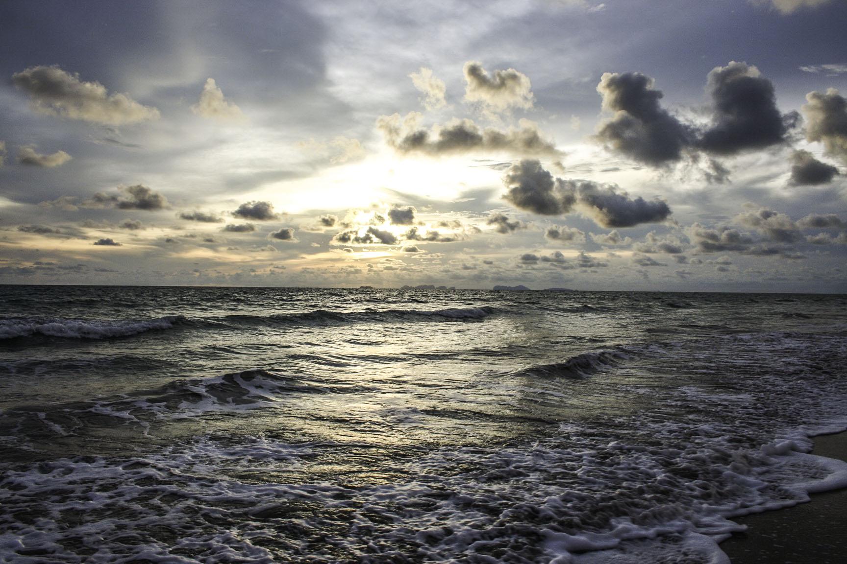 Sunset over Phuket, photo courtesy of Tyler Brooks
