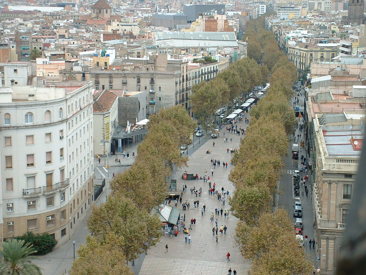 Spain discovering la rambla barcelona for Ramblas barcellona