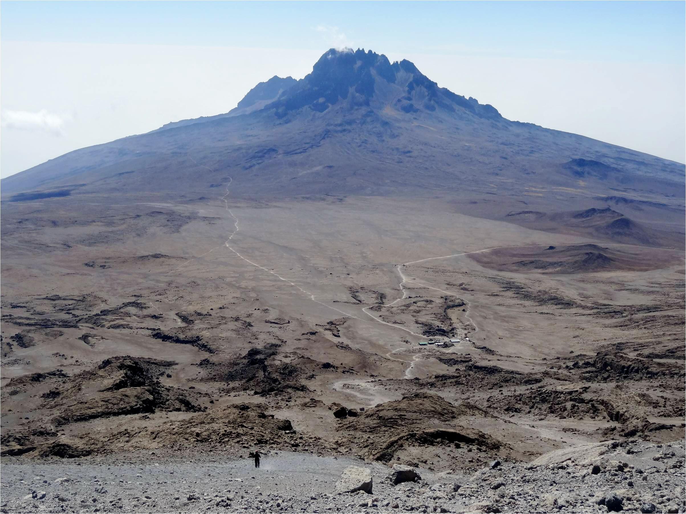 Kilimanjaro Overlooking Mawenzi Peak