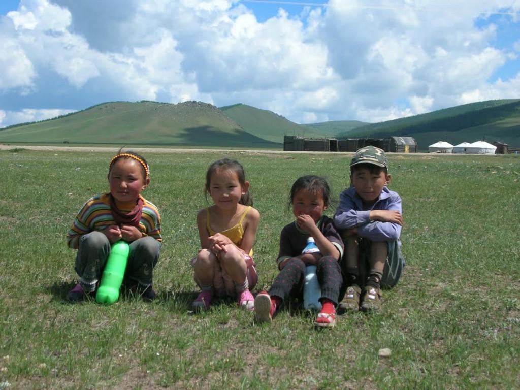 Children in Yanghuo, China