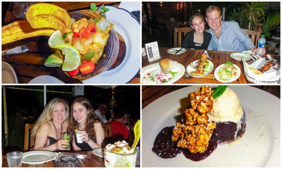Our family loved the gourmet restaurants in Puerto Rico.