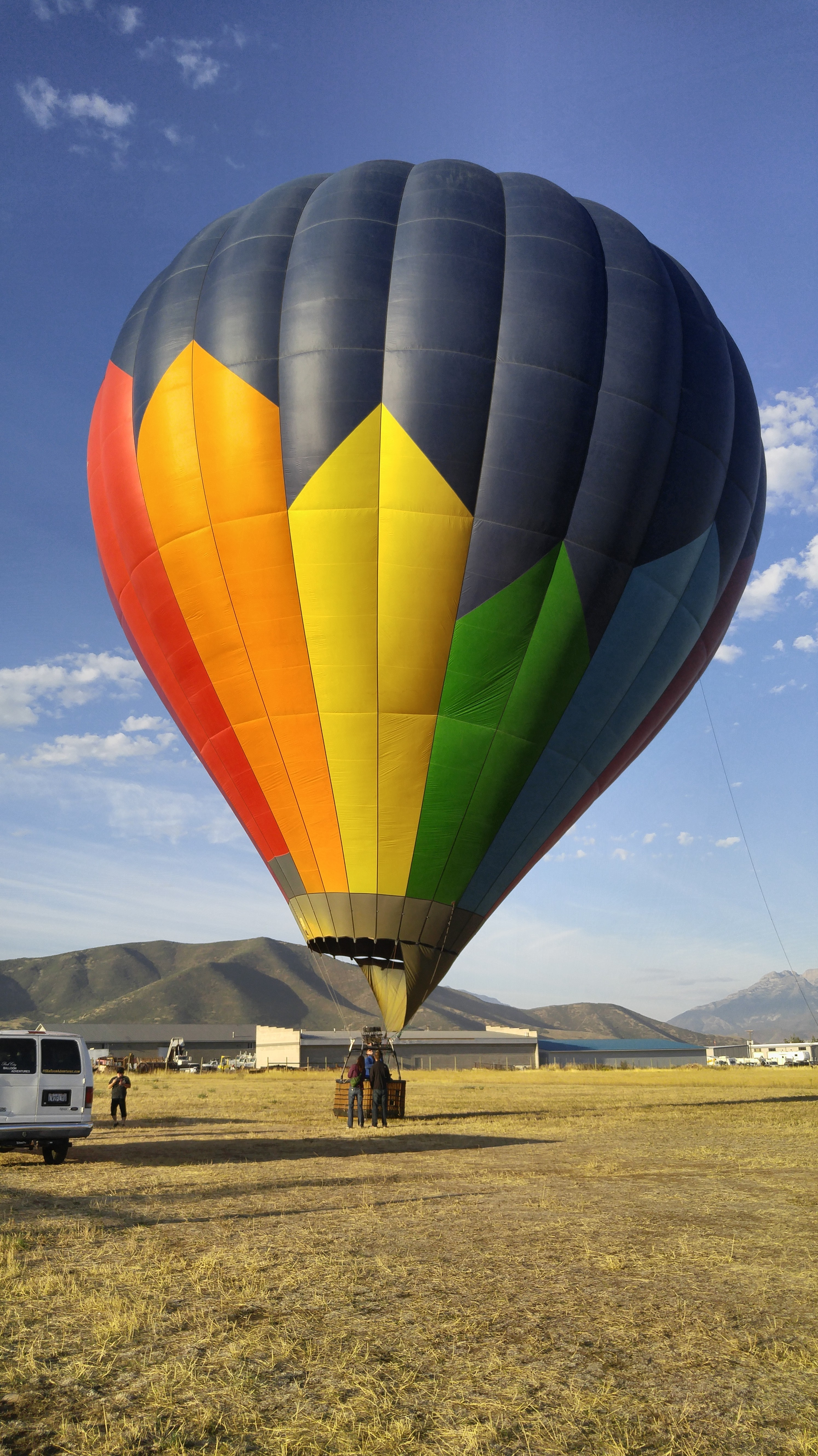 Incredible day in a Hot Air Balloon Park City, Utah