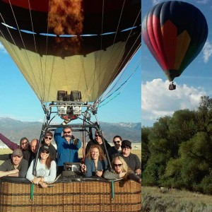 Summertime Hot Air Balloon Ride in Park City