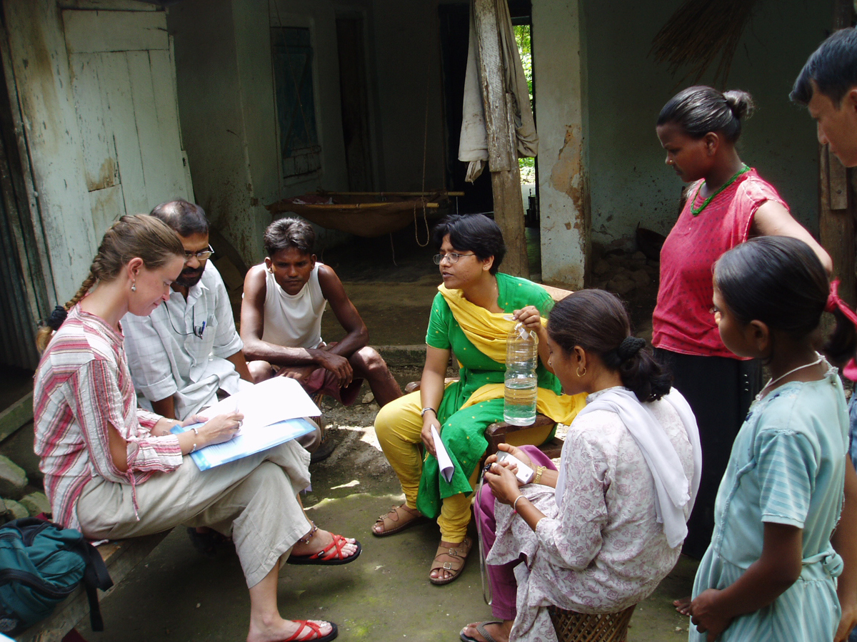 Sutay Berman volunteering in Sri Lanka - from Crocodile Love: Travel Tales from an Extended Honeymoon