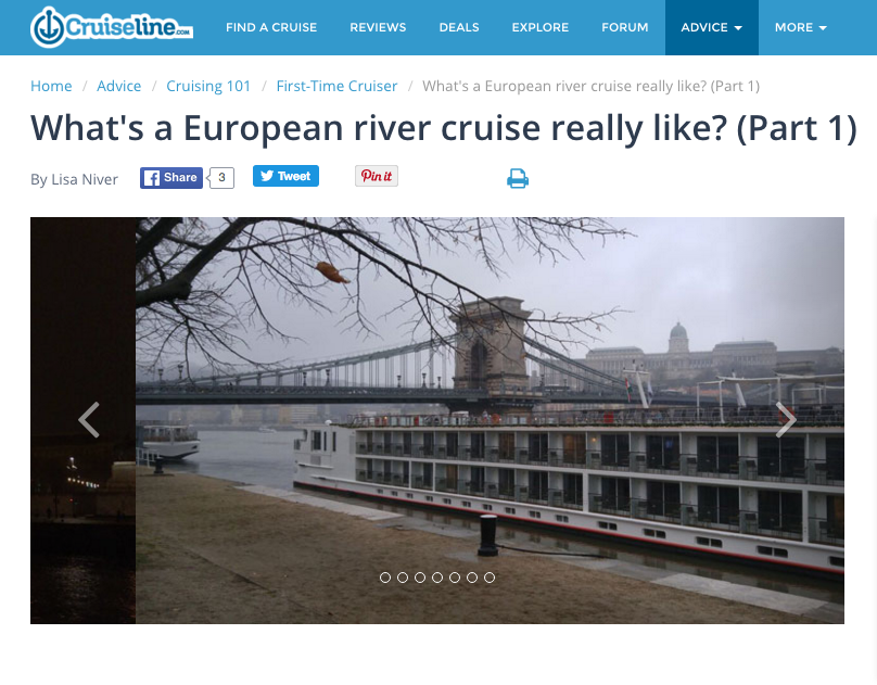the original version of this article called whats a european river cruise really like was first published on cruiseline - Viking River Cruise Christmas Market